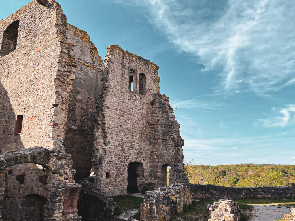 Ruine Homburg in Gössenheim