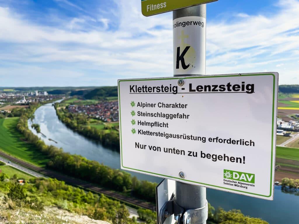 Ideal für Wanderausflüge in Lohr am Main Karlstadt am Main direkt am Mainradweg zum Wandern.