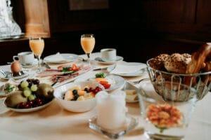 Frühstück, Breakfast frisch und fresh in Gemünden, Karlstadt, Lohr, Main-Spessart, Unterfranken, Würzburg.