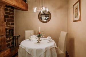 Romantisches Abendessen zu zweit bei Kerzenschein in Karlstadt, Lohr, Main-Spessart, Unterfranken, Würzburg. Auch ideal für Hochzeiten und Geburtstage.